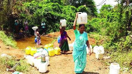 Planning for water needs | पाण्यासाठी नियोजनाची गरज