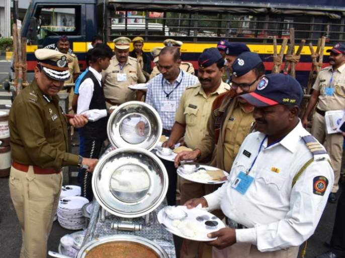 Nagpur Winter Session 19; police got food for only 10 rupees | नागपूर हिवाळी अधिवेशन २०१९; बंदोबस्तातील पोलिसांसाठी अवघ्या १० रुपयात जेवण