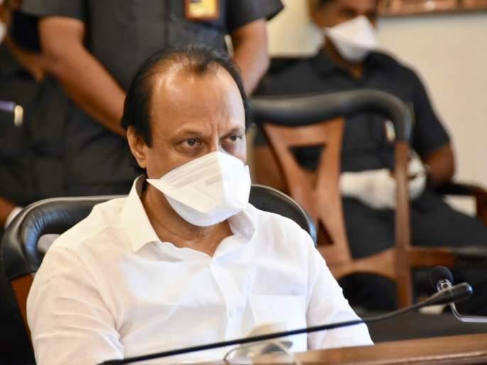 'Serious attention should be paid to the case of vandalism on the palace, peace, citizens should keep peace' ajit pawar | 'राजगृहावरील तोडफोड प्रकरणाची गंभीर दखल, नागरिकांनी शांतता पाळावी'