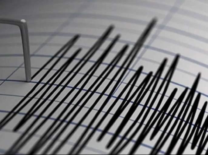 earthquake of magnitude 2.8 on richer scale 10 km depth occurred 91 km north of mumbai | उत्तर मुंबईला भूकंपाचे धक्के, नागरिकांमध्ये भीतीचं वातावरण