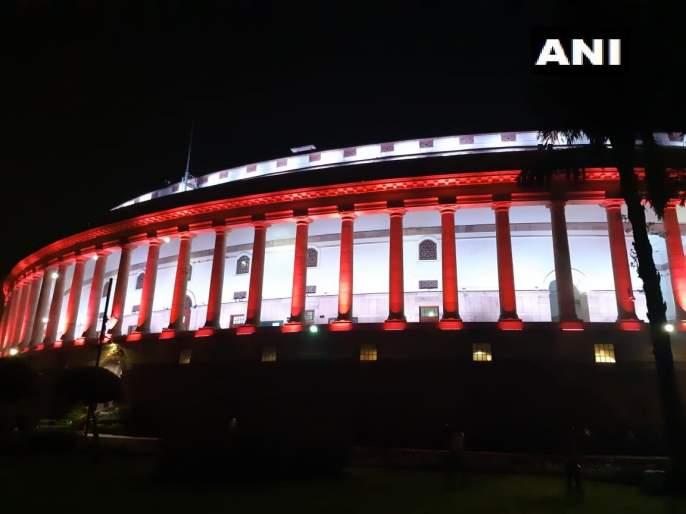 Jammu Kashmir news and Live updates, Narendra Modi Amit Shah Decides to Revoke Article 370 Article 35A in Rajya Sabha | Jammu Kashmir News & Live Update: ऐतिहासिक निर्णयानंतर संसद विद्युत रोषणाईत रंगली
