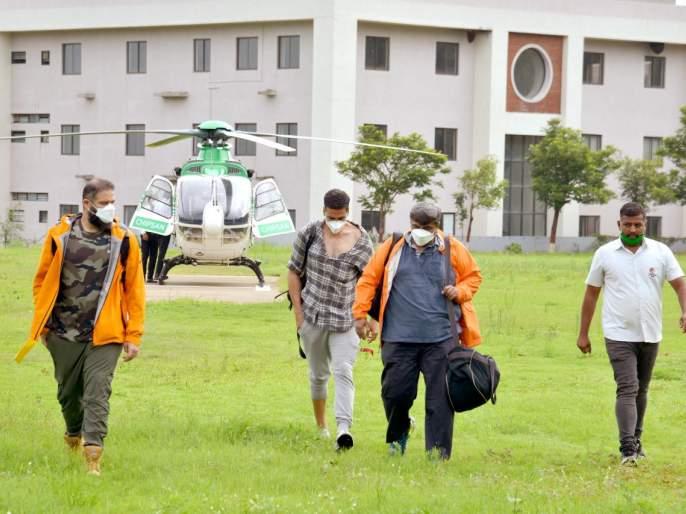 Inquiry into Akshay Kumar's air travel controversy, Bhujbal orders inquiry to nashik DM | अक्षय कुमारची 'हवाई सफर' वादाच्या भोवऱ्यात, भुजबळांकडून चौकशीचे आदेश