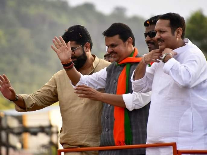 ... so the Prime Minister was absent from Udayan Raj's party Joining in BJP; The CM Devendra Fadanvis said the reason | ...म्हणून उदयनराजेंच्या पक्षप्रवेशाला पंतप्रधान गैरहजर राहिले; मुख्यमंत्र्यांनी सांगितले खरे कारण