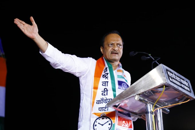 Maharashtra Election 2019: Fate poster turned out to be Zero: Alliance in last 5 years - Ajit Pawar   Maharashtra Election 2019: गेल्या ५ वर्षांतला युतीचा कारभार म्हणजे फटा पोस्टर निकला झिरो - अजित पवार