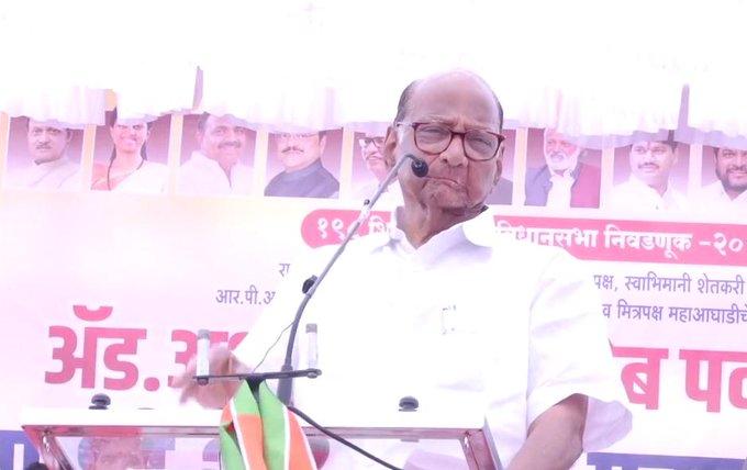 Maharashtra Election 2019: Sharad Pawar criticized on BJP- Shiv Sena on Pulwama Attack issue | Maharashtra Election 2019: 'करुन गेलं गाव आणि भलत्याचंच नाव'अशी सध्याची भाजपाची परिस्थिती'