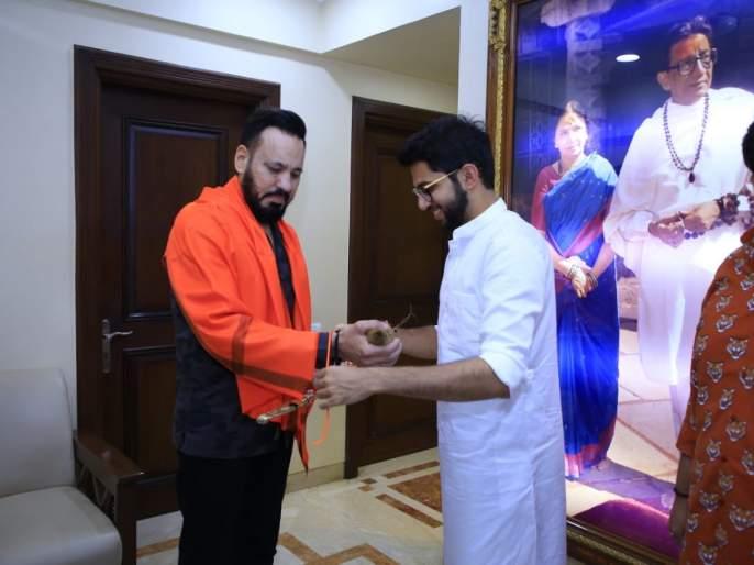 Maharashtra Election 2019: Salman Khan's Bodyguard Shera Joins Shiv Sena | Maharashtra Election 2019: शिवसेनेला मिळाला बॉलिवूडचा 'बॉडीगार्ड'; आदित्य ठाकरेंच्या उपस्थितीत बांधलं शिवबंधन