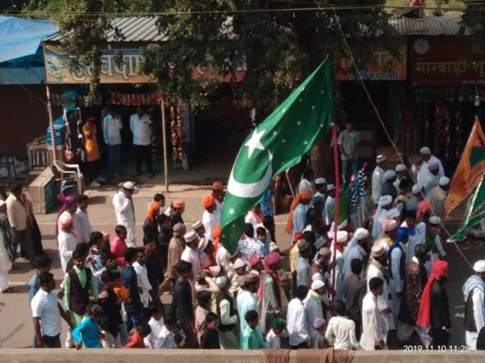 Eid-e-Milad celebrated in Washim district   वाशिम जिल्ह्यात ईद-ए-मिलाद हर्षोल्हासात साजरा