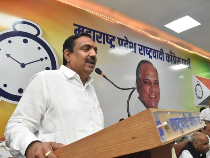 Maharashtra Election, Maharashtra Government: 'We will recruit merit not by mega recruitment only by asking party loyalists Says Jayant Patil | Maharashtra Government: 'पक्षातील निष्ठावंतांना विचारुनच आम्ही मेगाभरती नव्हे तर मेरीट भरती करू'