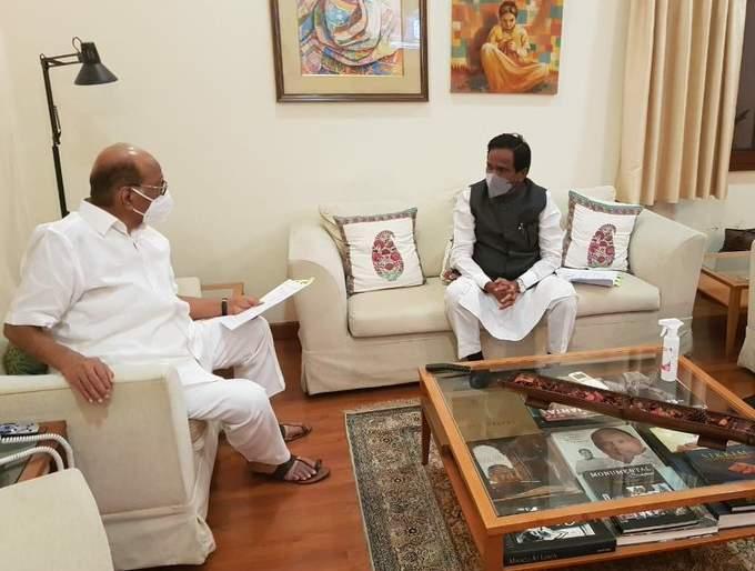 sharad Pawar- raosaheb Danve decided that onion growers will meet the Prime Minister | शरद पवार अन् दानवेंचं ठरलं, लवकरच पंतप्रधान नरेंद्र मोदींना भेटणार