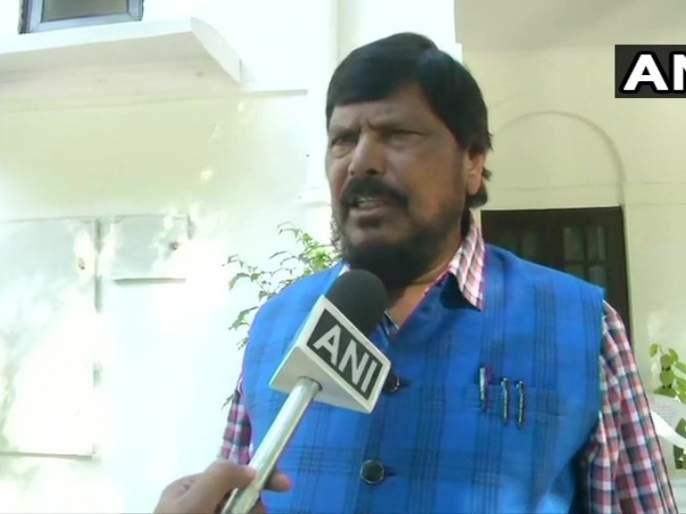 Maharashtra Election, Maharashtra CM: Ramdas Athvale re-appeals to Shiv Sena; Self If you want to fulfill Balasaheb Thackeray;s dream ... | Maharashtra CM: आठवलेंचे शिवसेनेला पुन्हा आवाहन; स्व. बाळासाहेबांचं स्वप्न पूर्ण करायचं असेल तर...