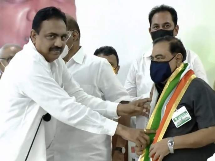 Leader Eknath Khadse finally joins NCP; Sharad Pawar big blow to BJP   Eknath Khadse: अखेर एकनाथ खडसेंचा राष्ट्रवादी काँग्रेसमध्ये प्रवेश; शरद पवारांचा भाजपाला मोठा धक्का