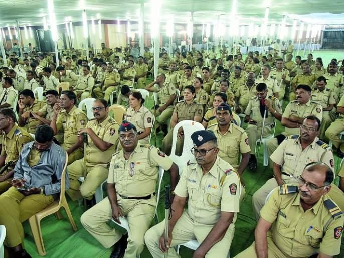 Maharashtra Assembly Election 2019: Nine thousand policemen guard at Nagpur | Maharashtra Assembly Election 2019 : नागपुरात नऊ हजार पोलीसांचे सुरक्षा कवच