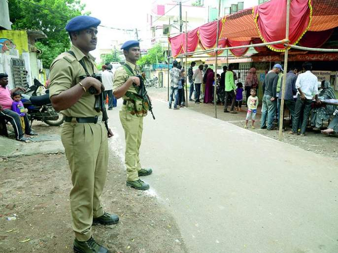 Maharashtra Assembly Election 2019 : In Nagpur bandobast for elections and even goons! | Maharashtra Assembly Election 2019 : नागपुरातील बंदोबस्त, निवडणुकीचा अन् गुंडांचाही!पोलिसांचे अभ्यासपूर्ण नियोजन