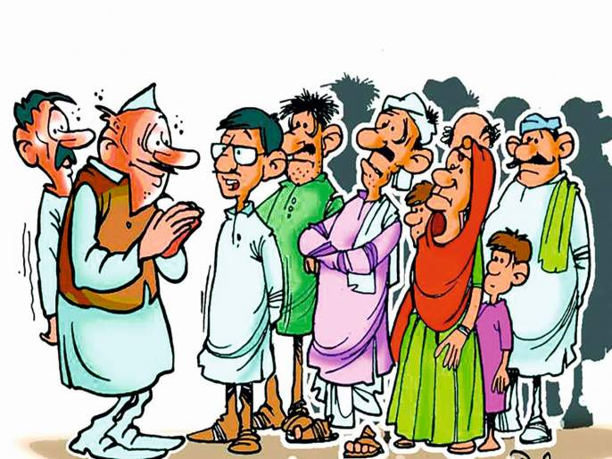 Article on political leaders rebellion from party | कोरड्या विहिरीतील उड्या !