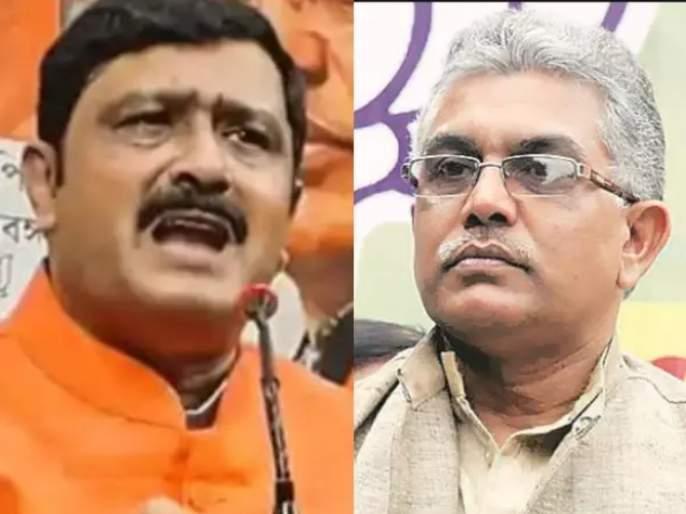 west bengal assembly election 2021 ecs imposed 48 hours ban on bjp leader rahul sinha and sends notice to dilip ghosh | West Bengal Election 2021: भाजप नेते राहुल सिन्हांवर ४८ तास प्रचारबंदी, दिलीप घोष यांना नोटीस; EC ची मोठी कारवाई