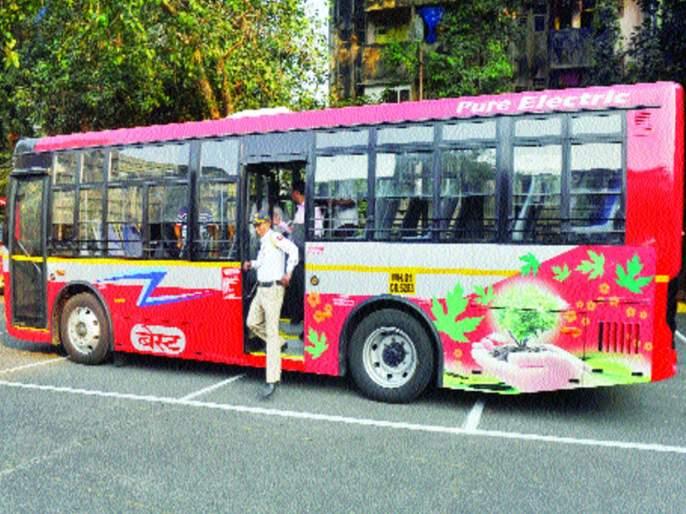 80 electric buses soon to be best | बेस्टच्या ताफ्यात लवकरच ८० इलेक्ट्रिक बस