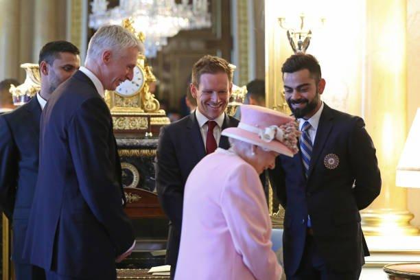 ICC World Cup 2019: Virat Kohli meet the Queen of England | ICC World Cup 2019 : विराट कोहलीने घेतली इंग्लंडच्या राणीची भेट
