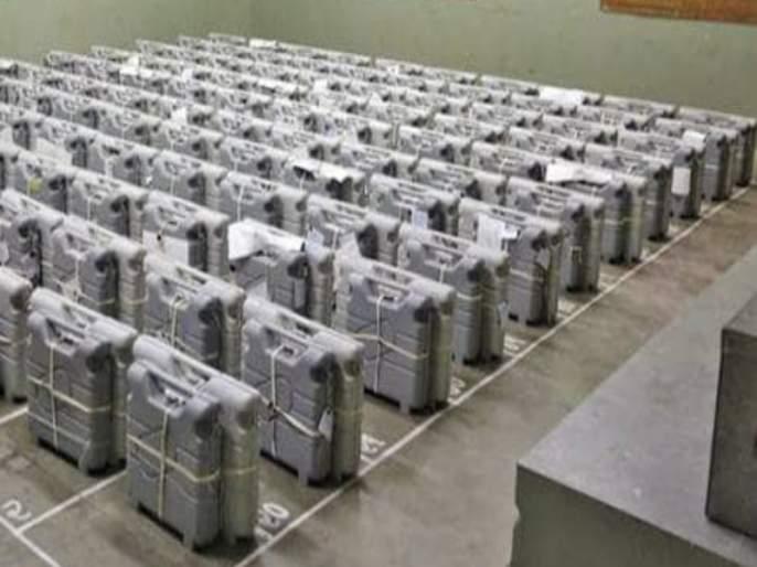 Polling machines in Mawal and Shirur constituencies are safe in Strong Room | मावळ व शिरुर मतदारसंघातील मतदान यंत्रे स्ट्राँग रुम' मध्ये सुरक्षित