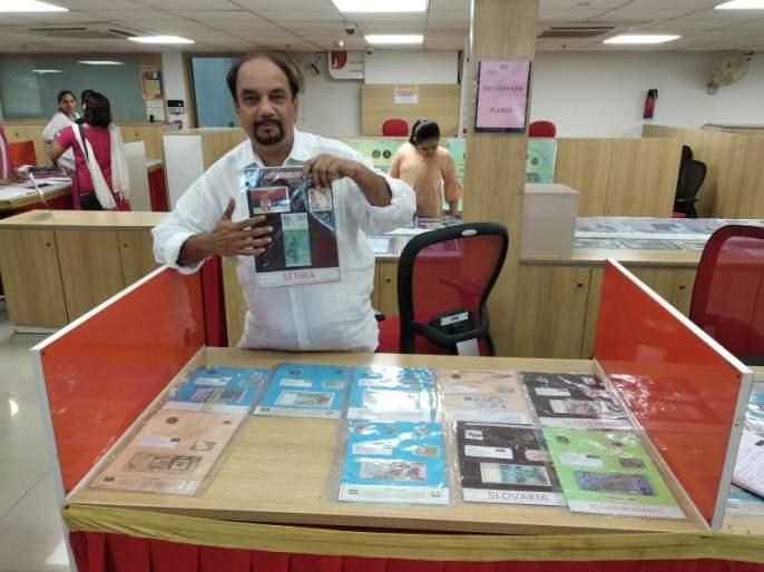 Thanekar experiences unique display of currency notes in 4 countries | ठाणेकरांनी अनुभवले २०० देशांतील चलनी नोटांचे अनोखे प्रदर्शन, आबालवृद्धांची गर्दी
