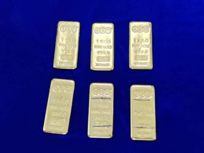 Crime : 6 kg gold biscuits seized from airport, customs action in chennai | Crime : विमानतळावरुन 6 किलो सोन्याची बिस्कीटे जप्त, कस्टमची कारवाई