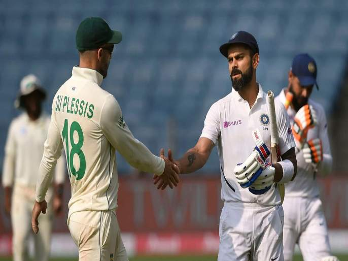 Faf du Plessis urges coin toss to be done away; says toss to be removed from Test matches | टॉस उडवूच नका ना राव; द. आफ्रिकेच्या कर्णधाराची अजब सूचना