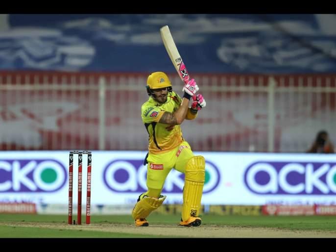 CSK vs DC Latest News : Faf Du Plessis, Ambati Rayudu Guide Chennai super kings to 179/4 against Delhi Capitals | CSK vs DC Latest News : ड्यू प्लेसिस, रायुडू अन् जडेजाची फटकेबाजी, चेन्नई सुपर किंग्सचा धावांचा डोंगर