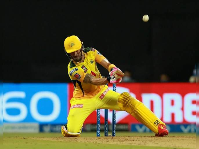 IPL 2021, CSK vs RR  T20 Live Score Update : Faf du Plessis takes on Jaydev Unadkat, smacks three boundaries and a six in an over, Video | IPL 2021, CSK vs RR T20 Live : फॅफ ड्यू प्लेसिस भलताच पेटला, अतरंगी फटके मारत जयदेव उनाडकटला धु धु धुतले, Video