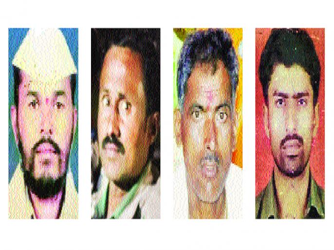 Four more farmers commit suicide in Marathwada   मराठवाड्यात आणखी चार शेतकऱ्यांच्या आत्महत्या