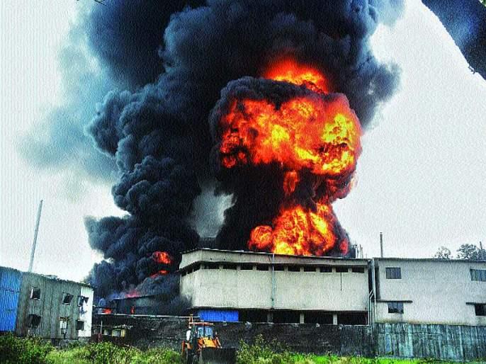 More than 3 deadly explosions sank | ५० हून अधिक भीषण स्फोटांनी हादरली डोंबिवली
