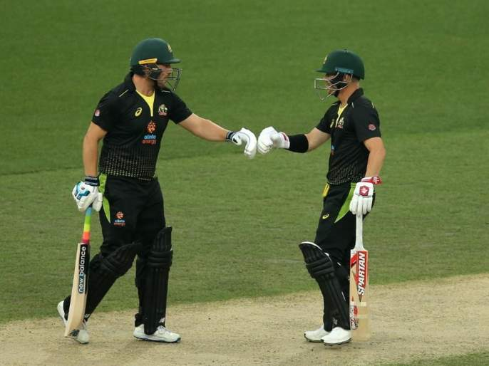 AUS VS PAK : Australia comfortable 10-wicket victory over Pakistan secures a 2-0 series win | AUS VS PAK : ऑस्ट्रेलियानं तिसऱ्या सामन्यात पाकिस्तानला धुळ चारली; मालिका खिशात टाकली