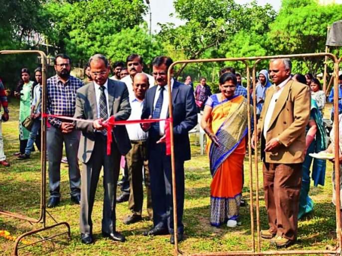 Unique event at Nagpur University: The beauty of artistic art emerged from the waste | नागपूर विद्यापीठात अनोखे आयोजन : कचऱ्यातून उमटणार कलाविष्काराचे सौंदर्य