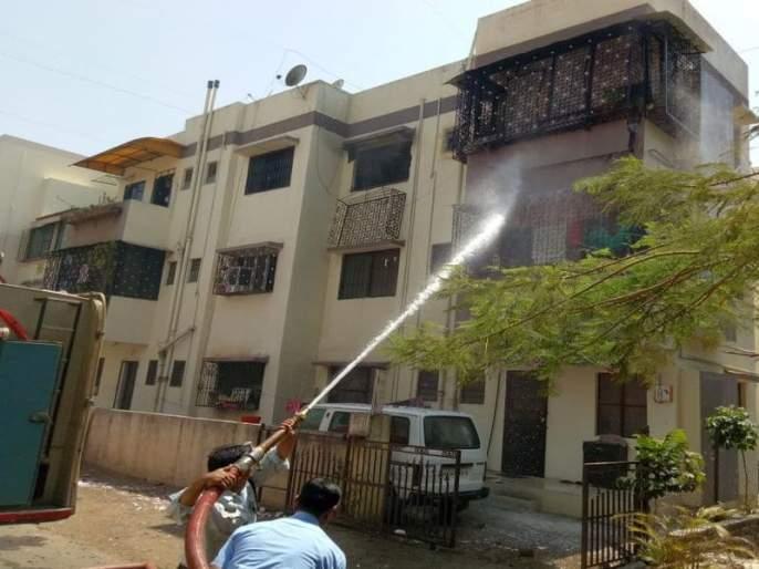 When the Dyamanti Society of Indiranagar shakes with an explosion ... | इंदिरानगरमधील दयमंती सोसायटी गुढ स्फोटाने हादरते तेव्हा...