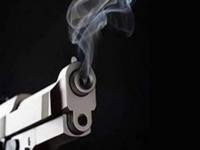 firing on youth at day in the Daund | दौंडला युवकावर भरदिवसा गोळीबार