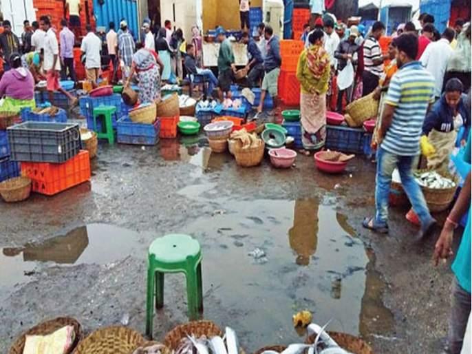 Fish farmer Colaba, migrated in Fort only | 'मासळी विक्रेत्यांचे कुलाबा, फोर्टमध्येच स्थलांतर'
