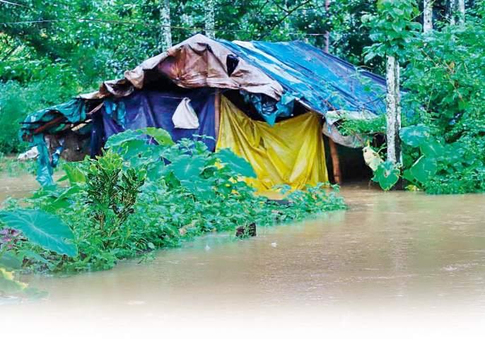 Heavy rainfall in adivasi area and plight of adivasi is always unnoticed.. | आमच्याही पावसाची नोंद घ्या.