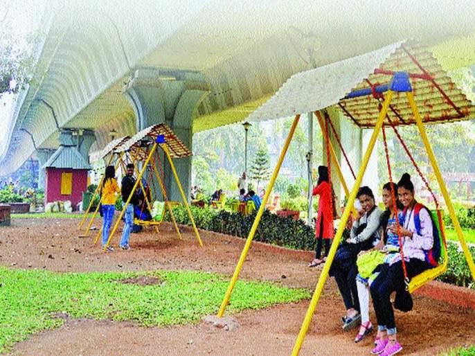 developing gardens under flyovers | उड्डाणपुलांखाली साकारणार विरंगुळ्याचे विश्व