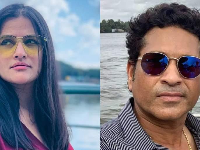 Famous singer Sona Mohapatra reminds Sachin Tendulkar of 'MeeToo' | 'या' सेलिब्रेटीने सचिन तेंडुलकरला करून दिली 'MeeToo' ची आठवण