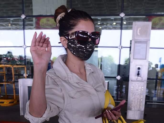 bigg boss 14 Rubina Dilaik did not answer the question of journalists at the airport | आम्ही चुकीच्या व्यक्तिला विजेता बनवले...! रूबीनाचा अॅटिट्यूड पाहून चाहत्यांना 'पश्चाताप'!!
