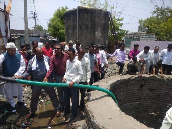 Free water supply at walki, Betoda villages | वाळकी, बिटोडा येथे मोफत पाणीपुरवठा
