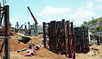 Two girders of Patripula to be installed by end of June | जूनअखेरीस बसवणार पत्रीपुलाचे दोन गर्डर