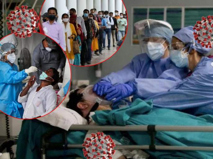 CoronaVirus Live Updates Maharashtra reports 58,993 new COVID cases 301 deaths in last 24 hours | CoronaVirus Live Updates : धोका वाढला! महाराष्ट्रात 58,993 नवे रुग्ण, कोरोनाग्रस्तांची संख्या 32,88,540 वर