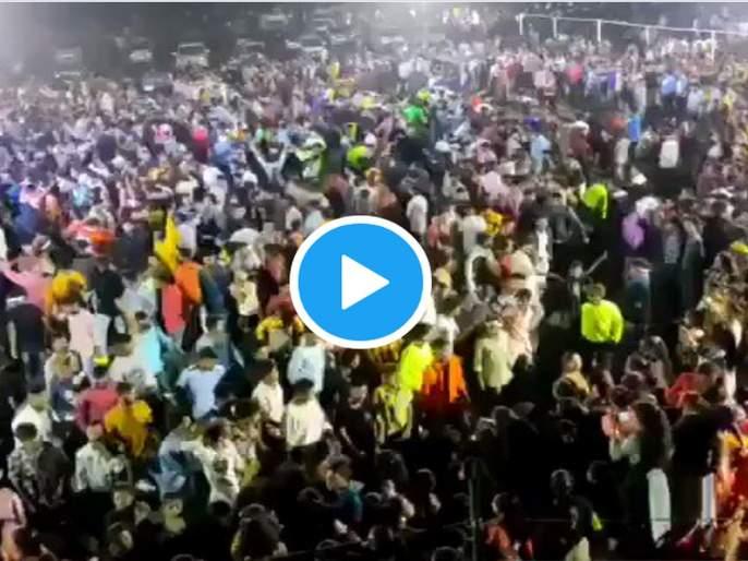 Video: 6000 people gathered in engagement of the BJP leader's grand daughter | Video: ५०, १०० नाही ६०००! भाजपा नेत्याच्या नातीच्या एन्गेजमेंटला जनसागर लोटला