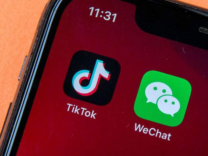 US hits Tiktok, We Chat after India; Banned from Sunday   भारतानंतर Tiktok, We Chat ला अमेरिकेचा दणका; रविवारपासून बंदी