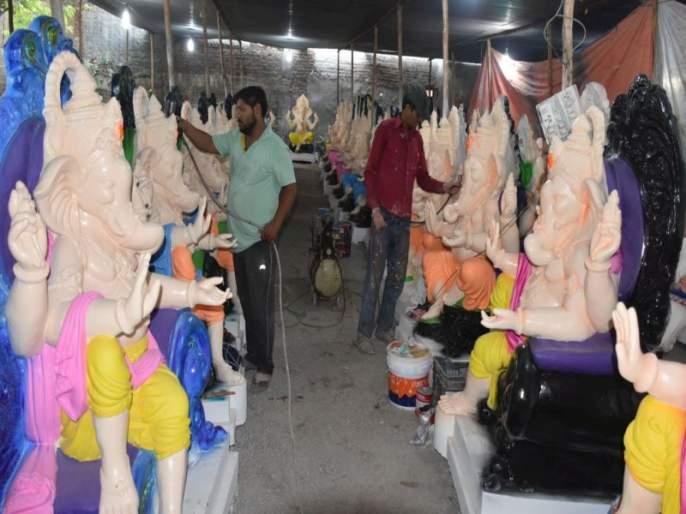 POP statues can be used in Maghi Ganeshotsav, great relief to sculptors, artisans | माघी गणेशोत्सवात पीओपीच्या मूर्तींचा वापर करता येणार, मूर्तीकार, कारागीरांना मोठा दिलासा
