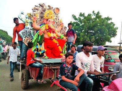 The state government has extended the deadline for the Ganeshotsav Mandals | सार्वजनिक गणेशोत्सव मंडळांना दिलासा, मंडपांना परवानगी देण्याची मुदत राज्य सरकारने वाढवली
