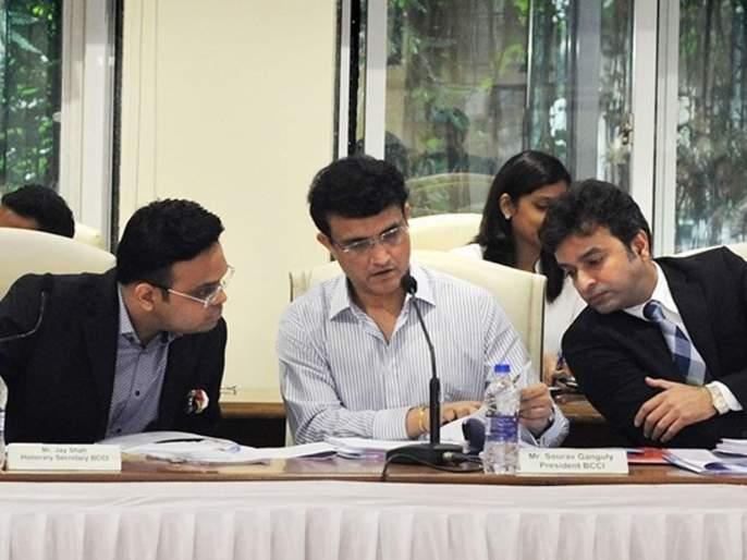 BCCI president Sourav Ganguly batting for Amit Shah's son Jay Shah | अमित शाह यांचे चिरंजीव जय शाहसाठी BCCI अध्यक्ष सौरव गांगुलीची फलंदाजी!
