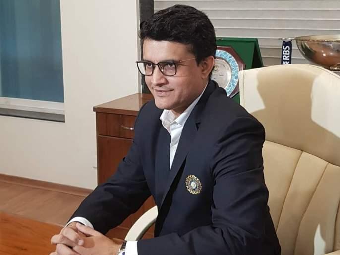 That's why Sourav Ganguly decided to wear this blazer after taking charge as the President of BCCI | Emotional दादा; अध्यक्षपदाची सूत्रं हाती घेताच सौरव गांगुलीनं घातलं 'ते' ब्लेझर, Video