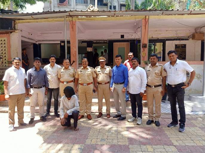 One arrested with six lakh Ganja in Thane   ठाण्यात सहा लाखांच्या गांज्यासह एकाला अटक