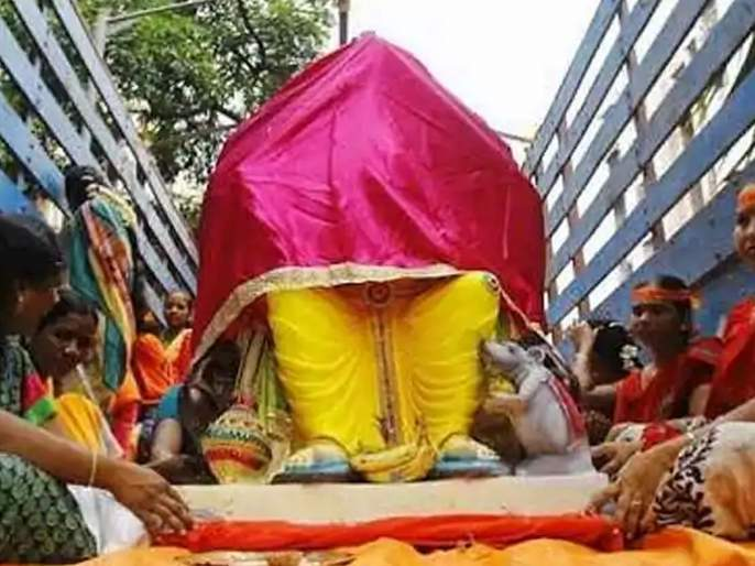 Ganesh Festival 2019 : Why do we cover lord Ganesha's face when bring idol to a home | Ganesh Festival 2019 : बाप्पाला घरी आणताना चेहरा का झाकतात?