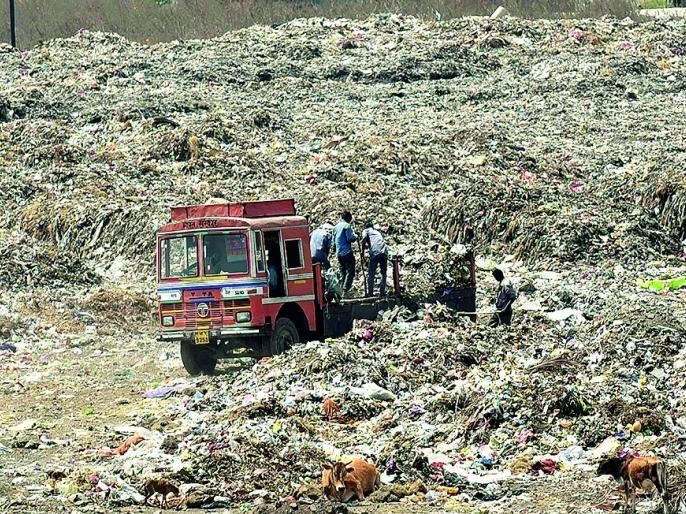 Nagpur's garbage will go to Jabalpur   नागपूरचा कचरा जबलपूरला जाणार